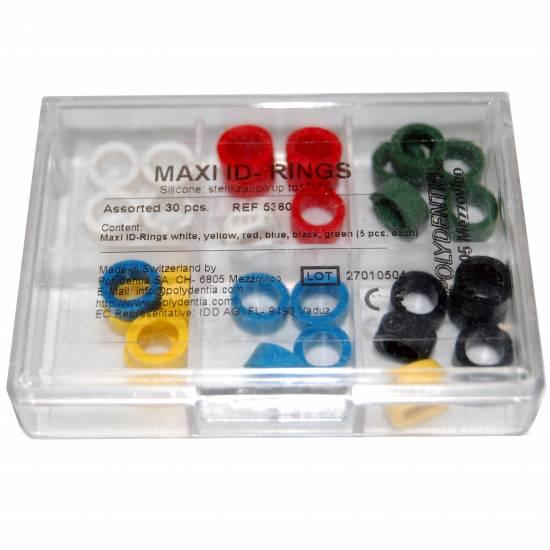 POLYDENTIA - Maxi ID-Rings sortiment 30 pcs