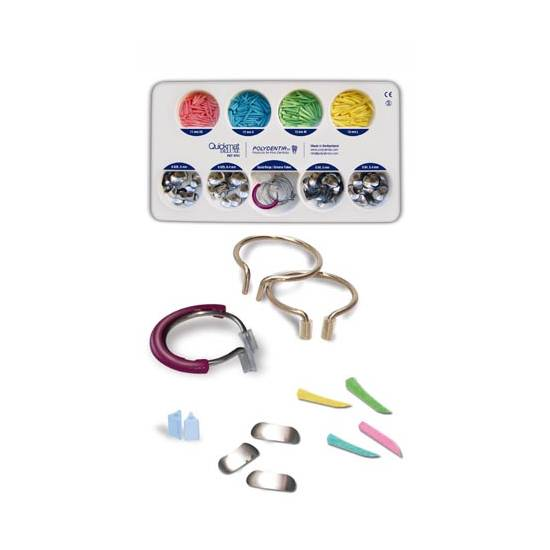 POLYDENTIA - Quickmat Deluxe Kit with Re-Force