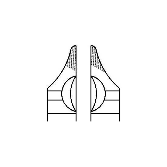 MEDIN - Kliešte ohýbacie krampónové 13,5cm