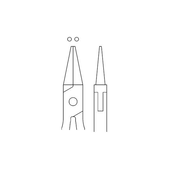 MEDIN - Kliešte ohýbacie kuželové